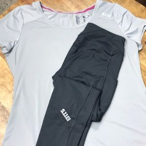 5.11 Tactical leggings & Dri Fit Athletics wear L